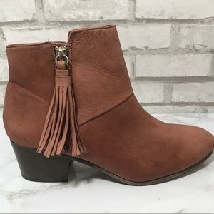 Coach Priscilla Boots/Booties with Tassels 8